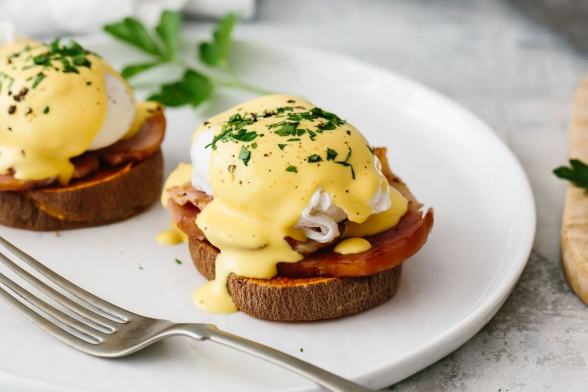 Healthy Eggs Benedict - Recipes Egg Benedict