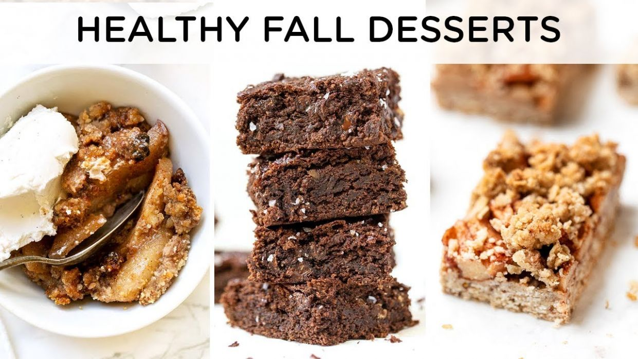 HEALTHY FALL DESSERT RECIPES ‣‣ quick & easy vegan desserts - Dessert Recipes Quick N Easy