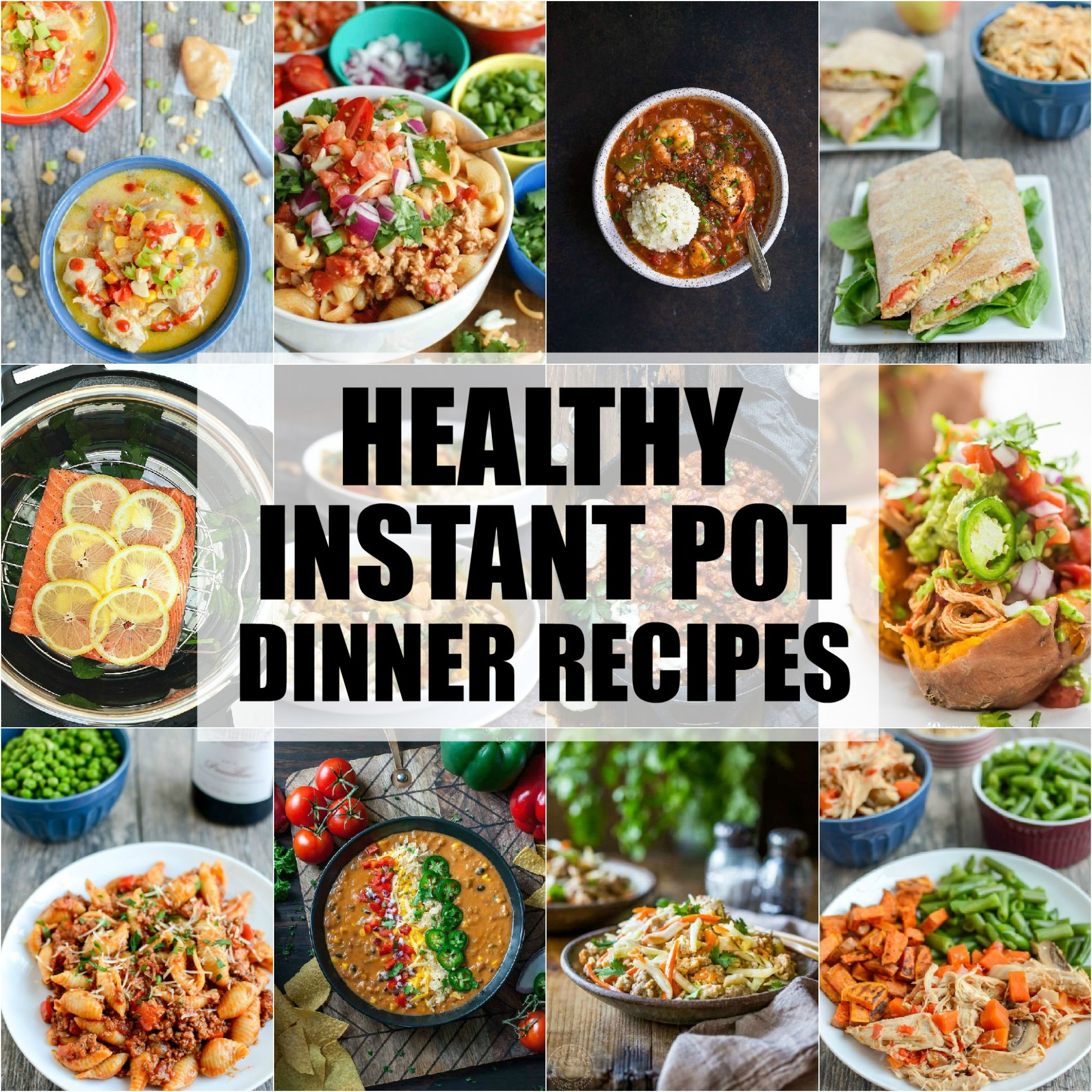 Healthy Instant Pot Dinner Recipes | The Lean Green Bean - Healthy Recipes Instant Pot