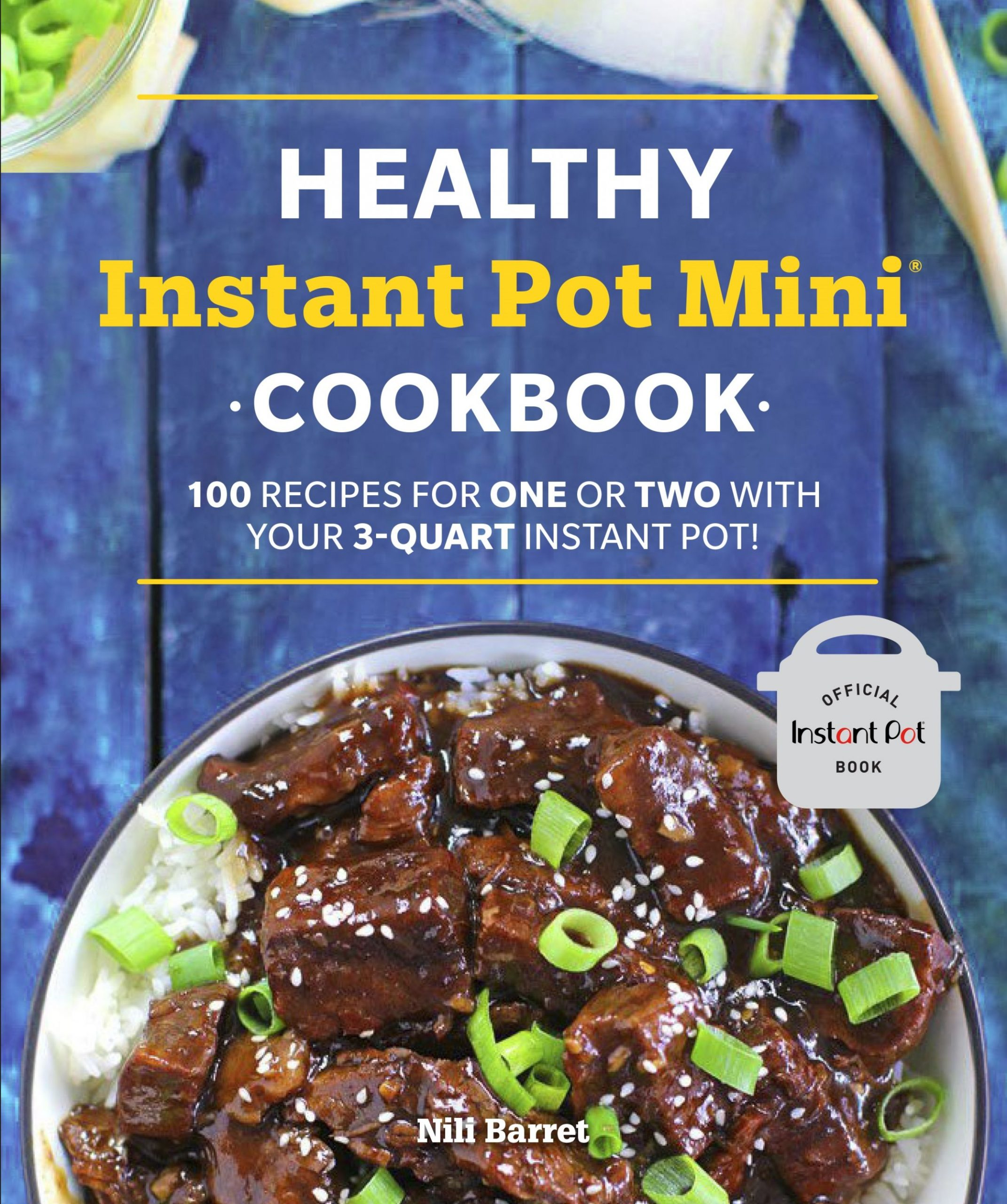 Healthy Instant Pot Mini Cookbook by Nili Barrett - Penguin Books ..