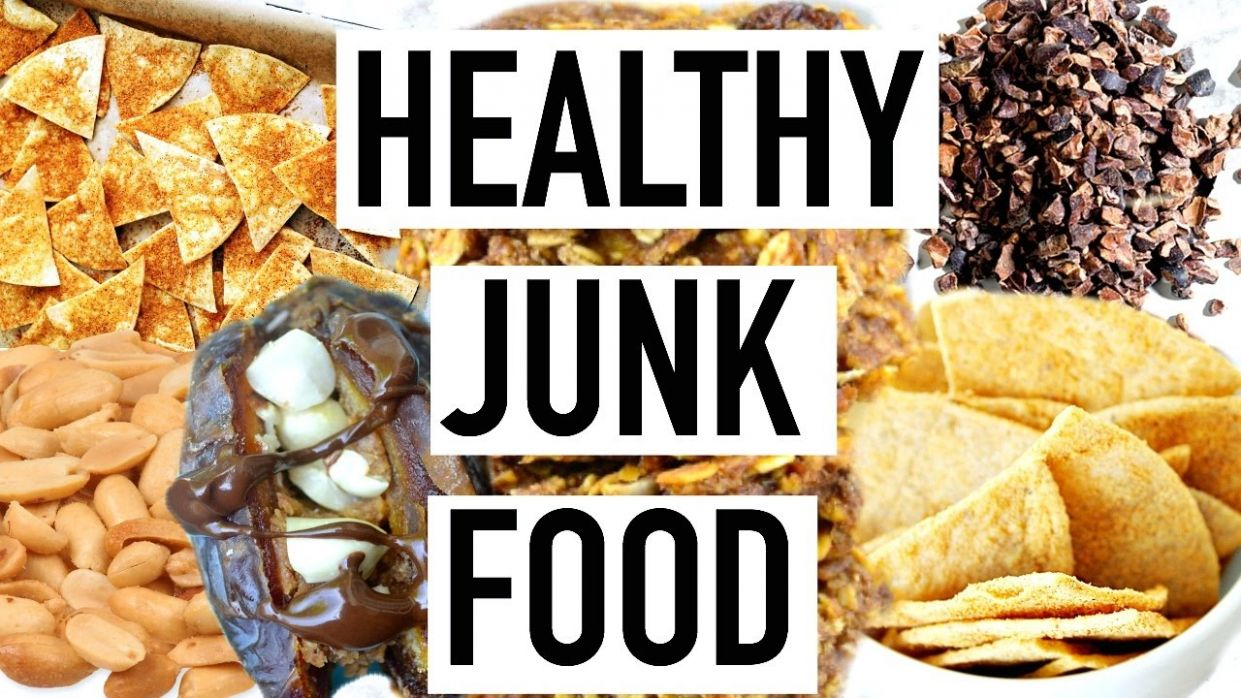 HEALTHY JUNK FOOD! Easy Healthy Snacks! Cooking With Liv Ep.12 ...