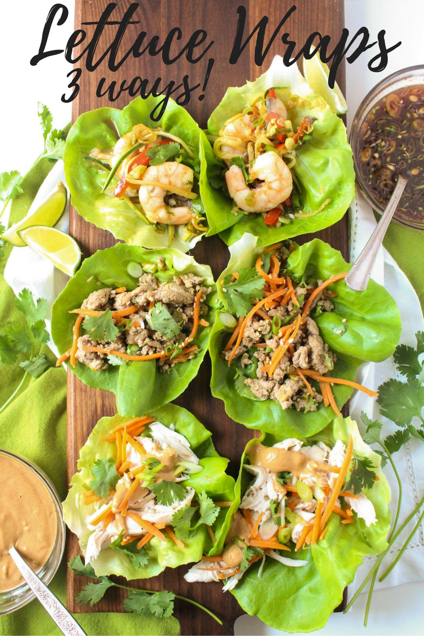 Healthy Lettuce Wrap Recipes - fANNEtastic food