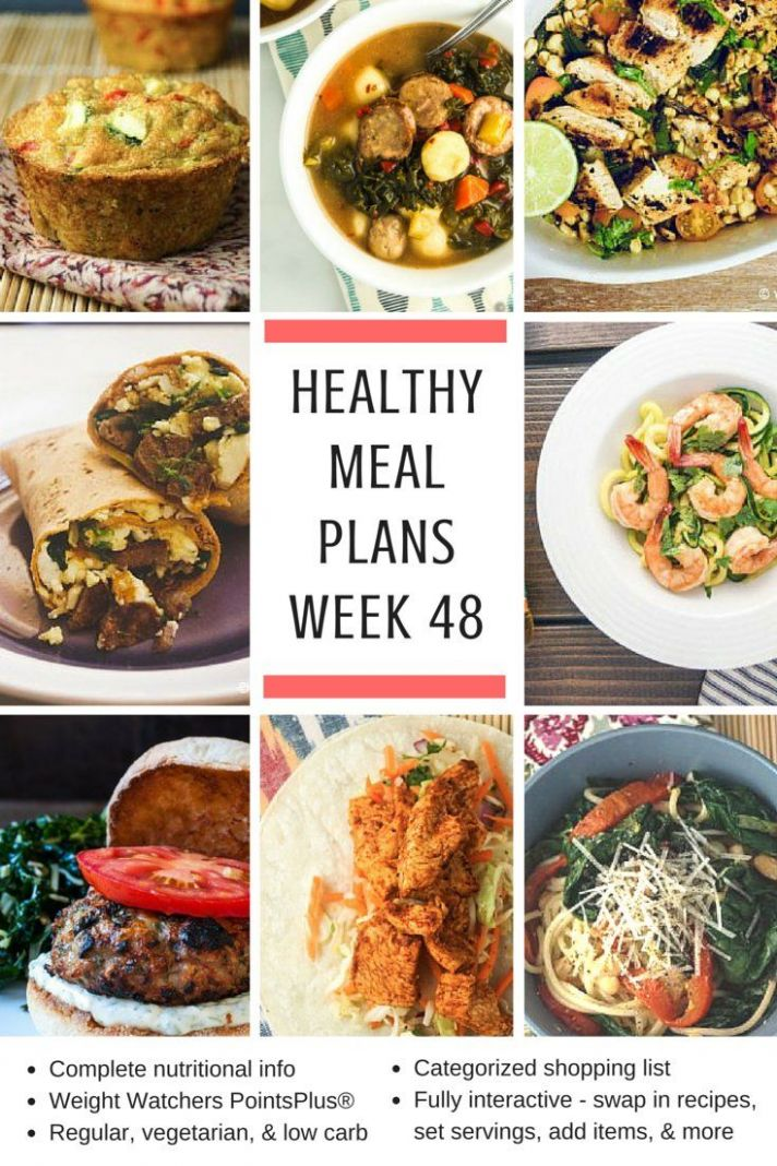 Healthy Meal Planning Made Easy: Week 12 Meal Plans and Holiday ..