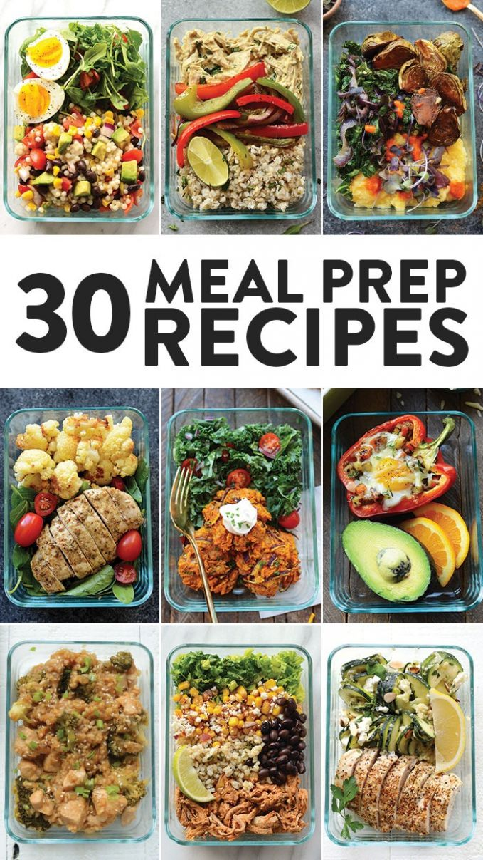 Healthy Meal Prep Recipes 12 Ways - Fit Foodie Finds - Simple Recipes Meal Prep