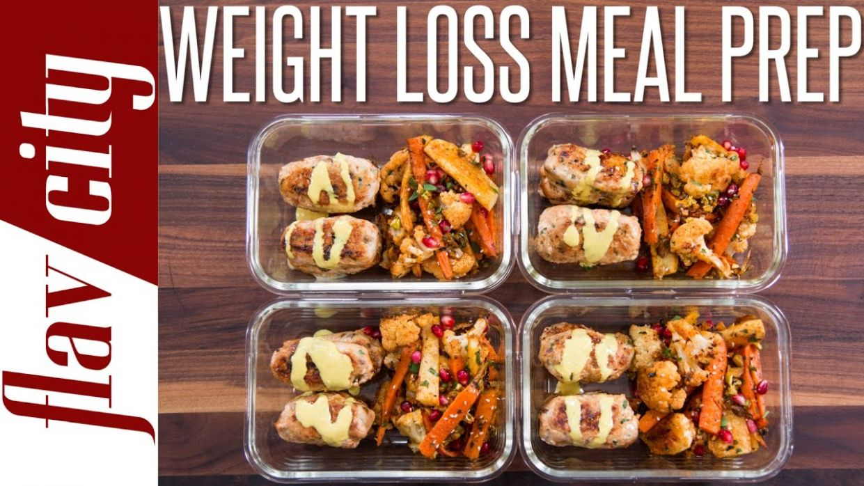 Healthy Meal Prepping For Weight Loss - Tasty Recipes For Losing Weight - Healthy Recipes Weight Loss