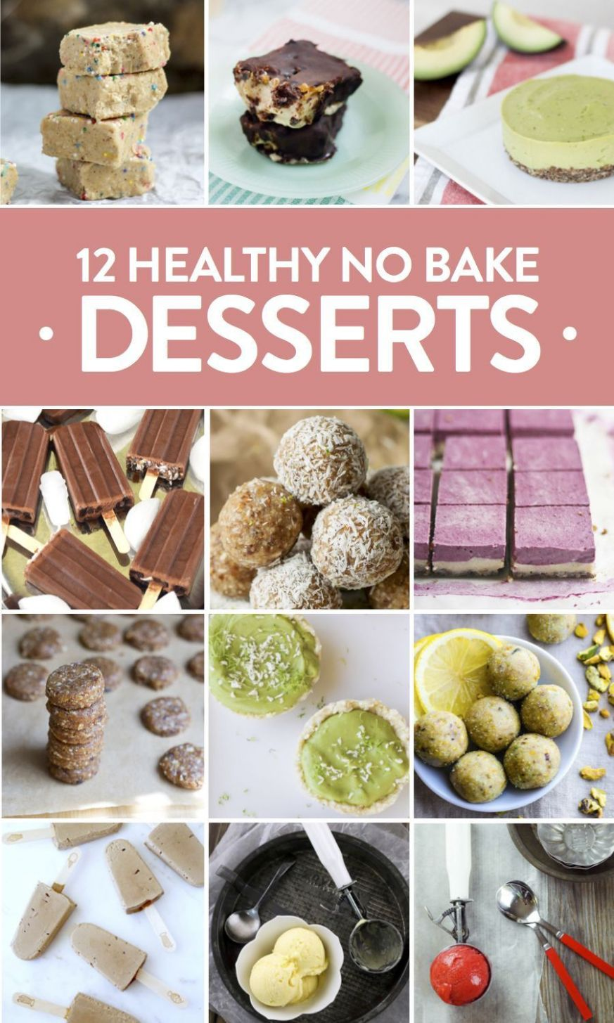 Healthy No Bake Desserts for Summer | Summer dessert recipes ..