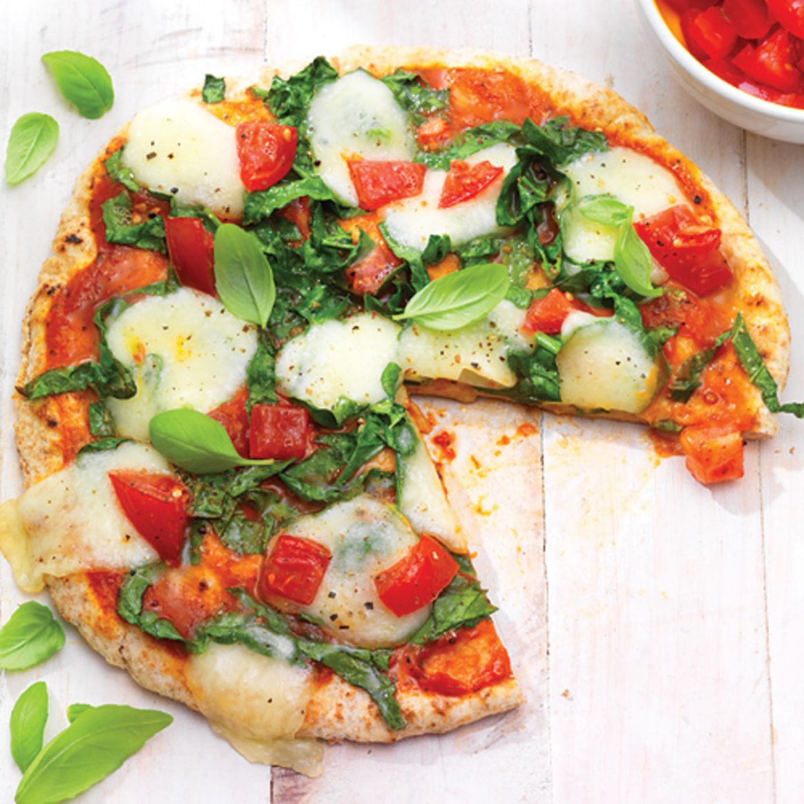 Healthy Personal Pizza Recipe - Clean Eating Magazine