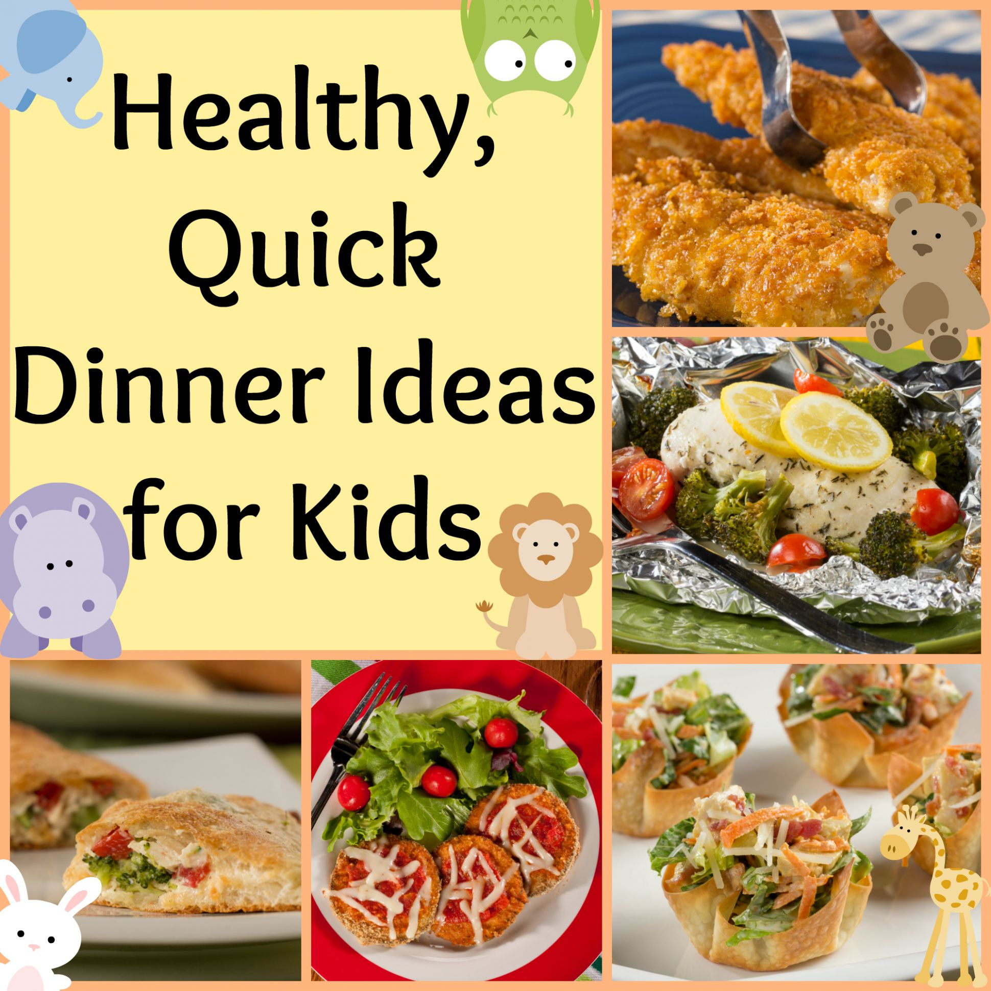 Healthy, Quick Dinner Ideas for Kids - Mr