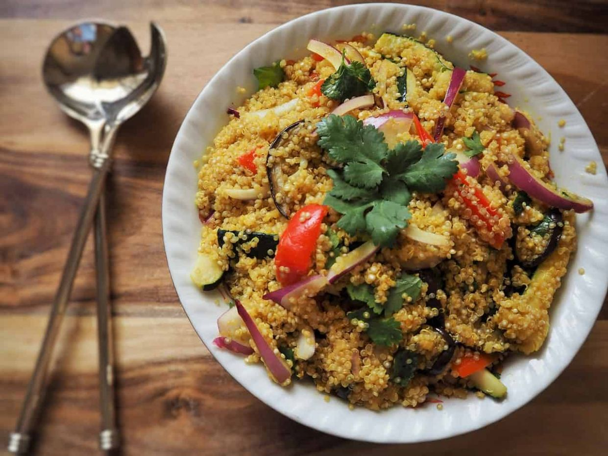 Healthy Quinoa Recipe for Weight Loss and Gorgeous Skin