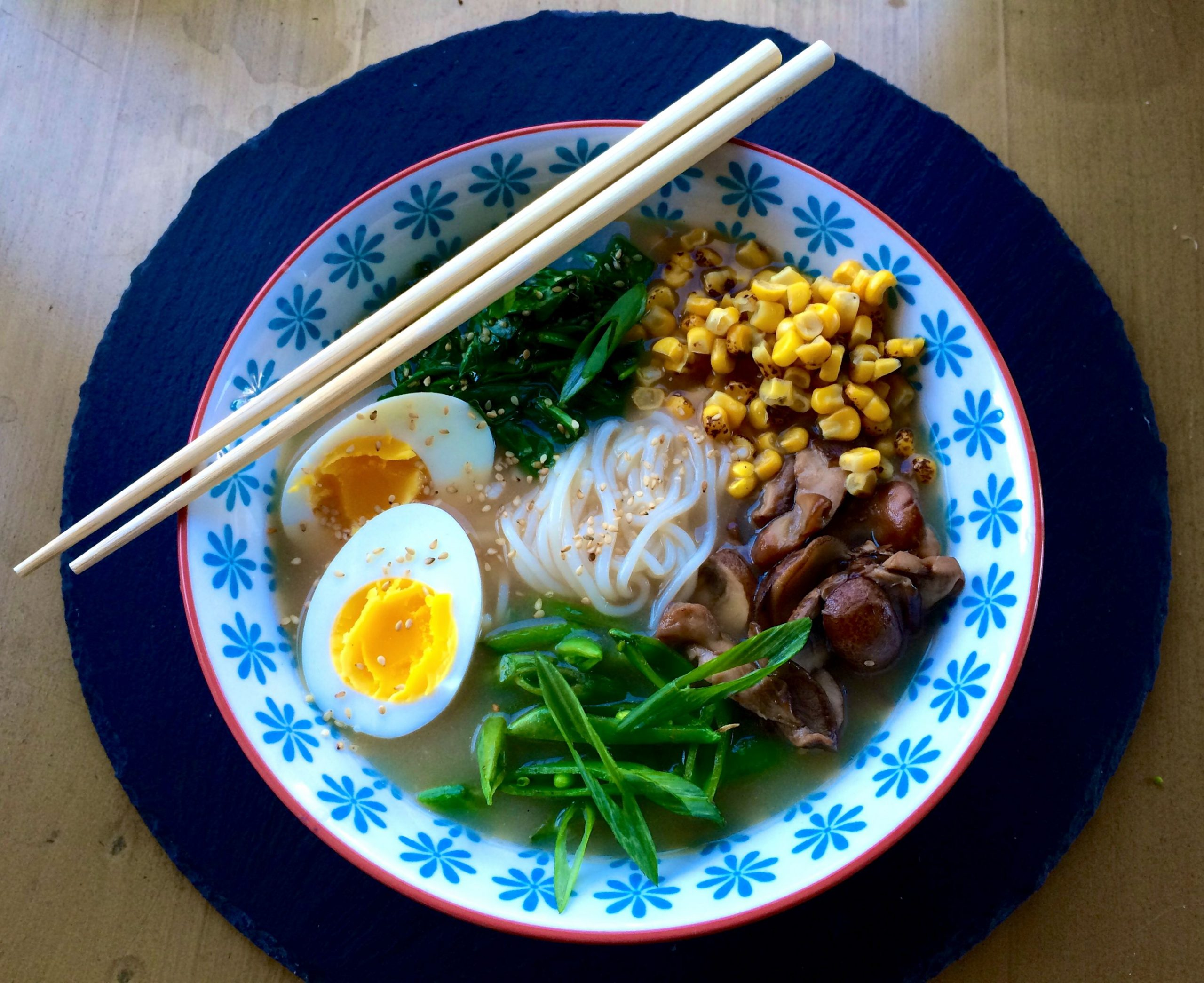Healthy Recipe: Miso Ramen Noodle Bowls - Healthy Travel Blog