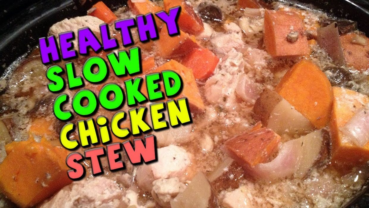 Healthy Slow Cooked CHICKEN Stew Recipe (Bodybuilding/High Protein) - Healthy Recipes Bodybuilding
