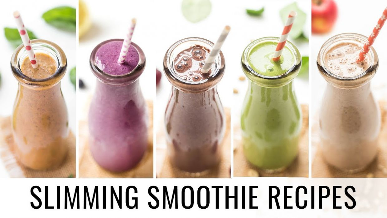 HEALTHY SMOOTHIE RECIPES | 12 smoothies for weight loss