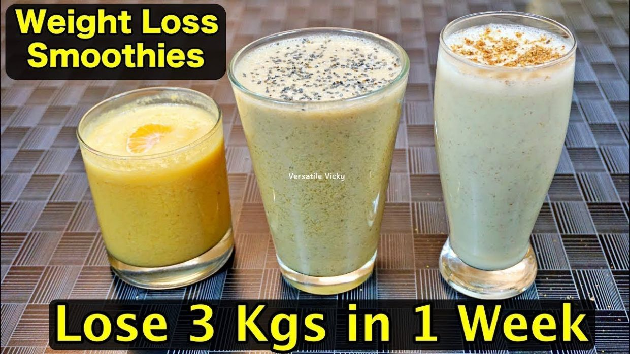 Healthy Smoothie Recipes For Weight Loss | Lose 8Kg in a Week | Breakfast  Smoothies For Weight Loss - Smoothie Recipes For Weight Loss Uk