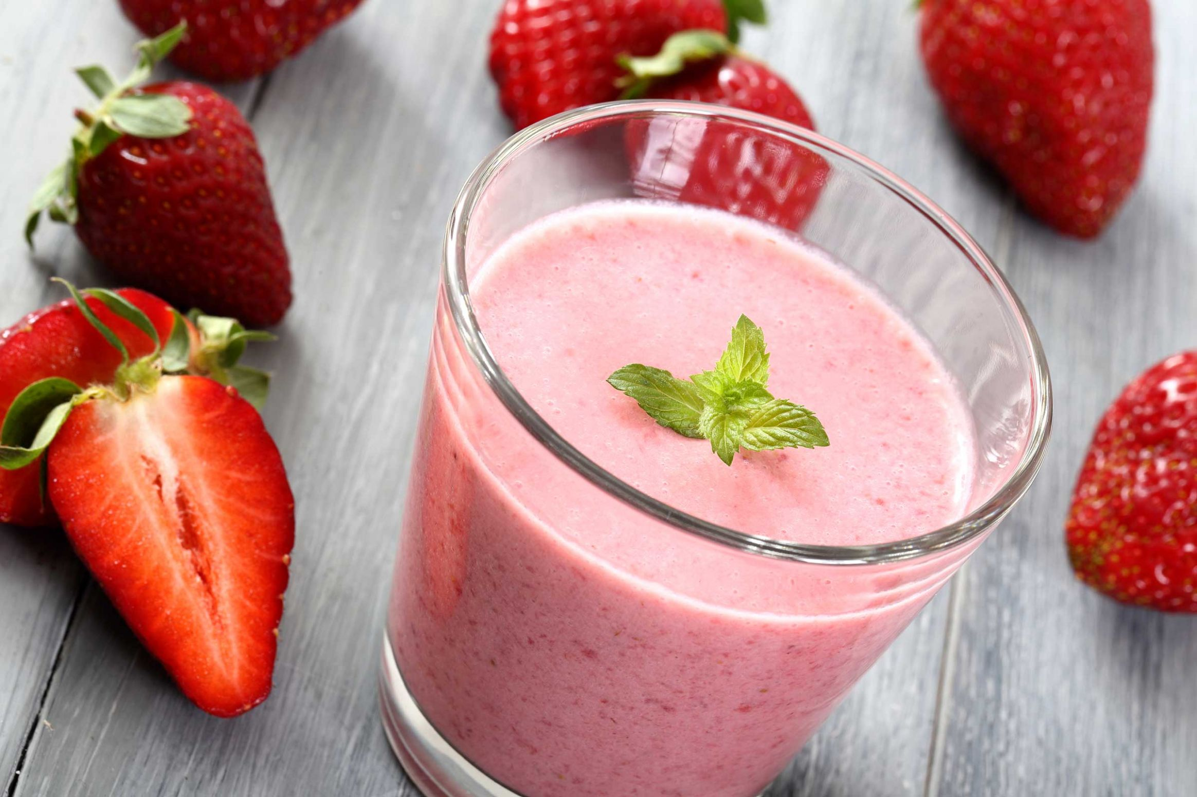 Healthy Strawberry Smoothie - Healthy Smoothie Recipes For Weight Loss Nz