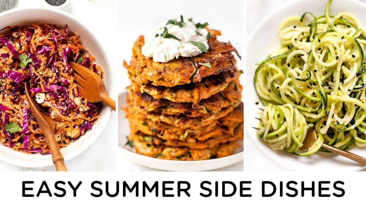 HEALTHY SUMMER SIDES ‣‣ quick & easy summer recipes - Recipes Summer Easy