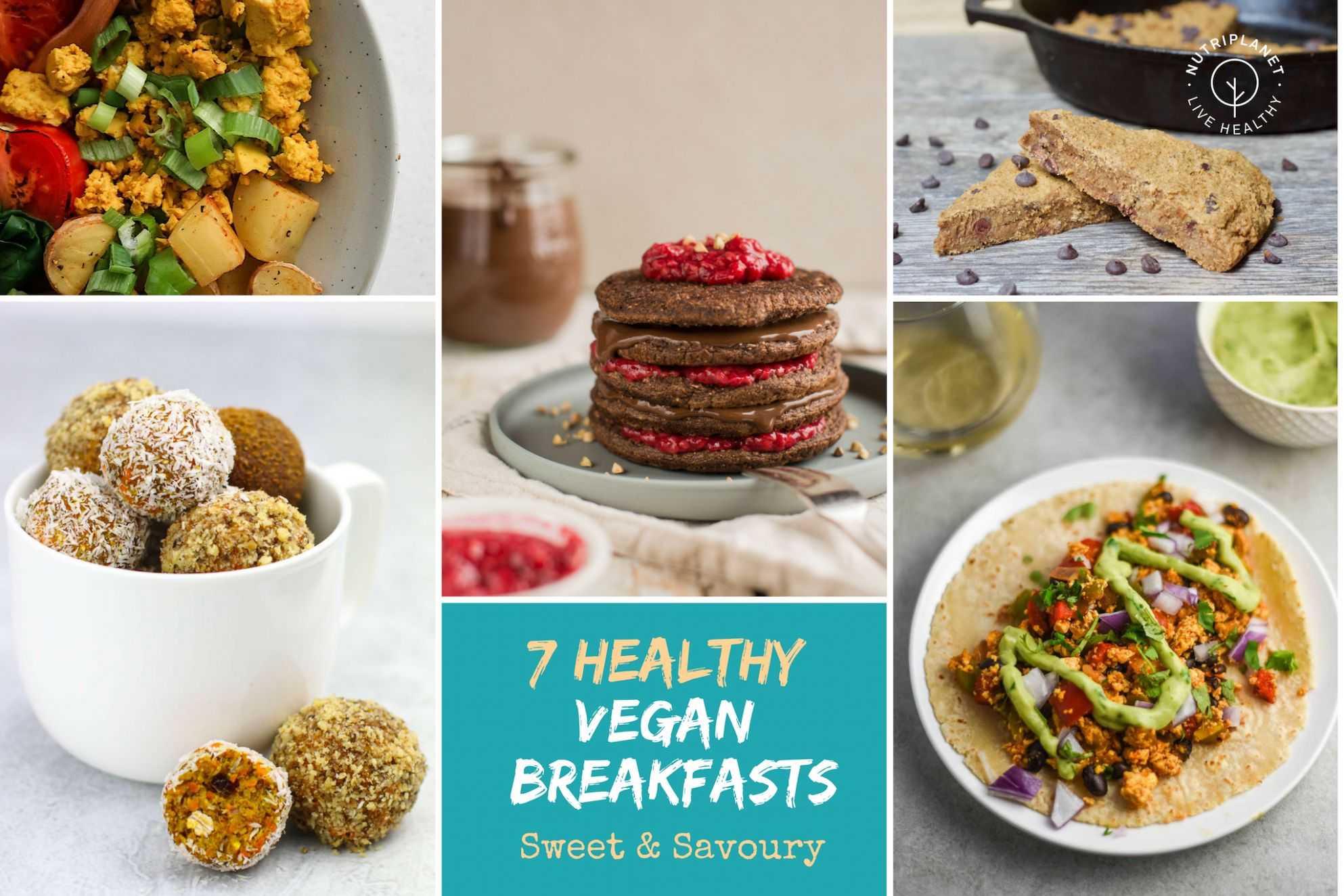 Healthy Vegan Breakfast Recipes: 10 Sweet and Savoury Ideas ...