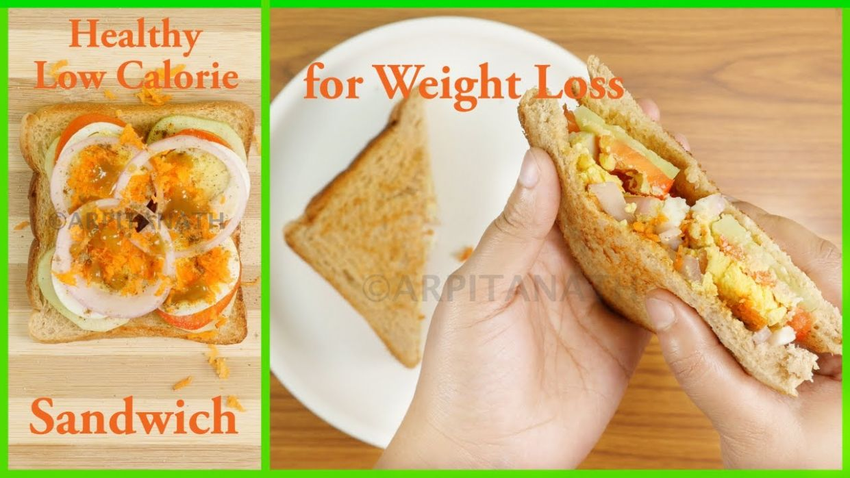 Healthy Weight Loss Sandwich Recipe || Low Calorie, High-Protein, Oil Free  || Lose Weight Faster - Sandwich Recipes Low Calorie