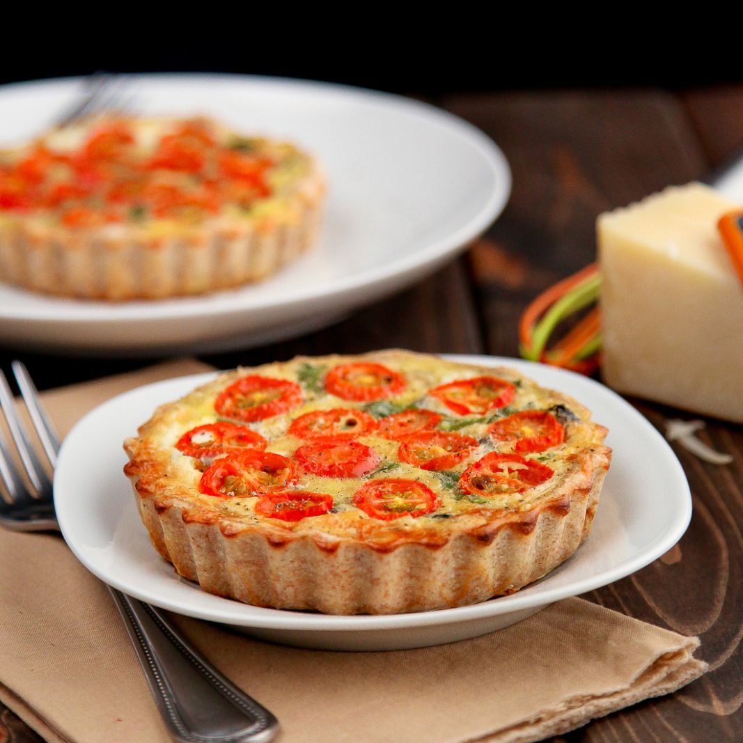 Healthy Whole Wheat Vegetable Quiche
