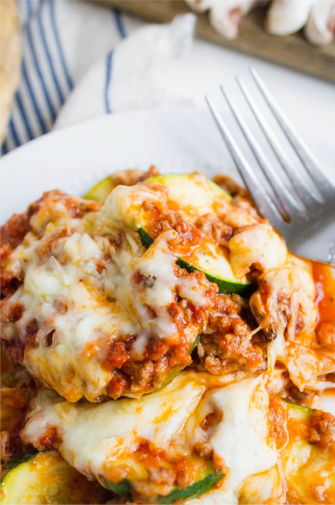 Healthy Zucchini Lasagna Recipe - Healthy Dinner Recipes Zucchini
