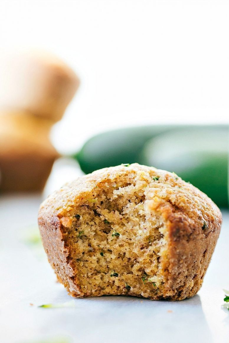 Healthy Zucchini Muffins | Chelsea's Messy Apron