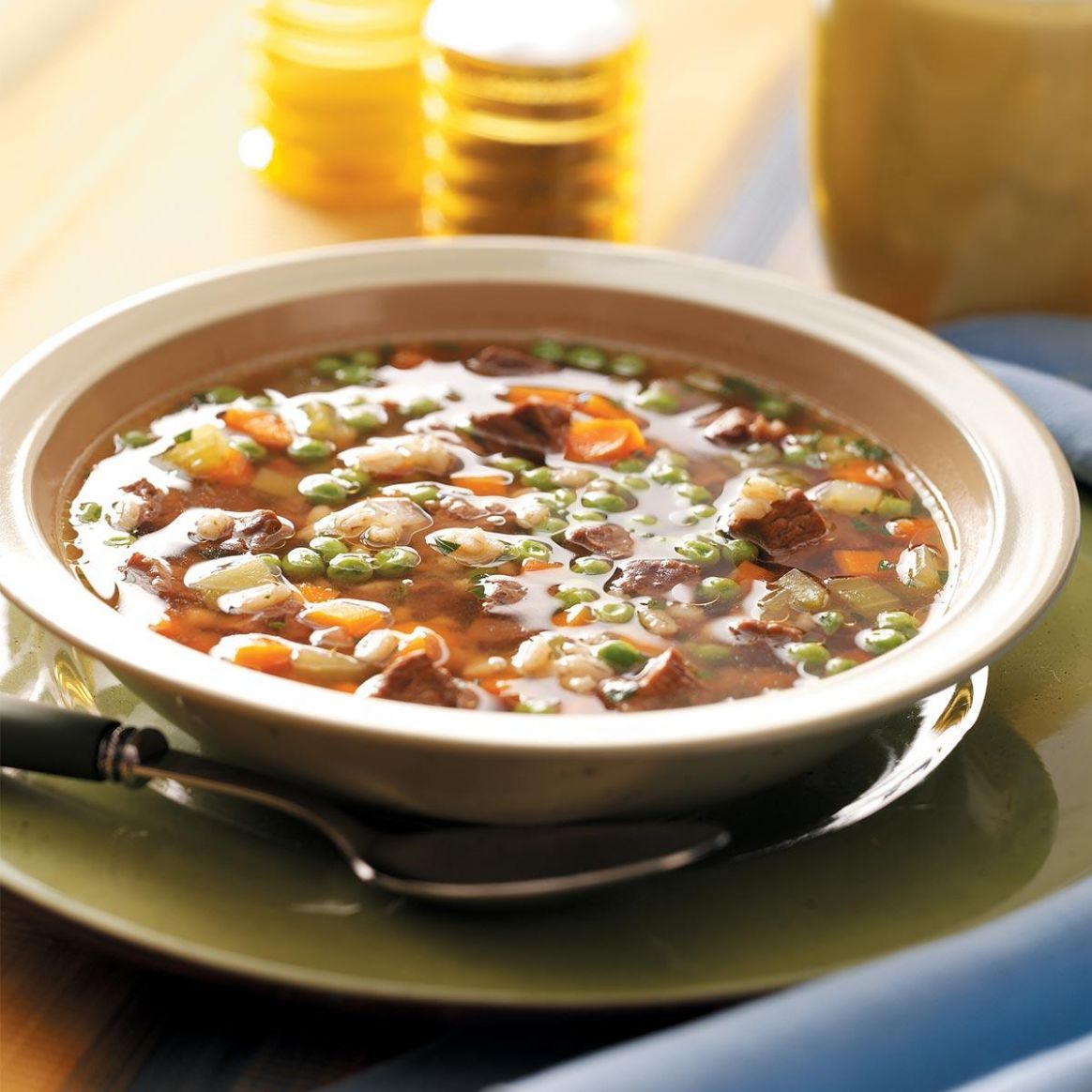 Hearty Beef and Barley Soup - Recipes Beef Barley Soup