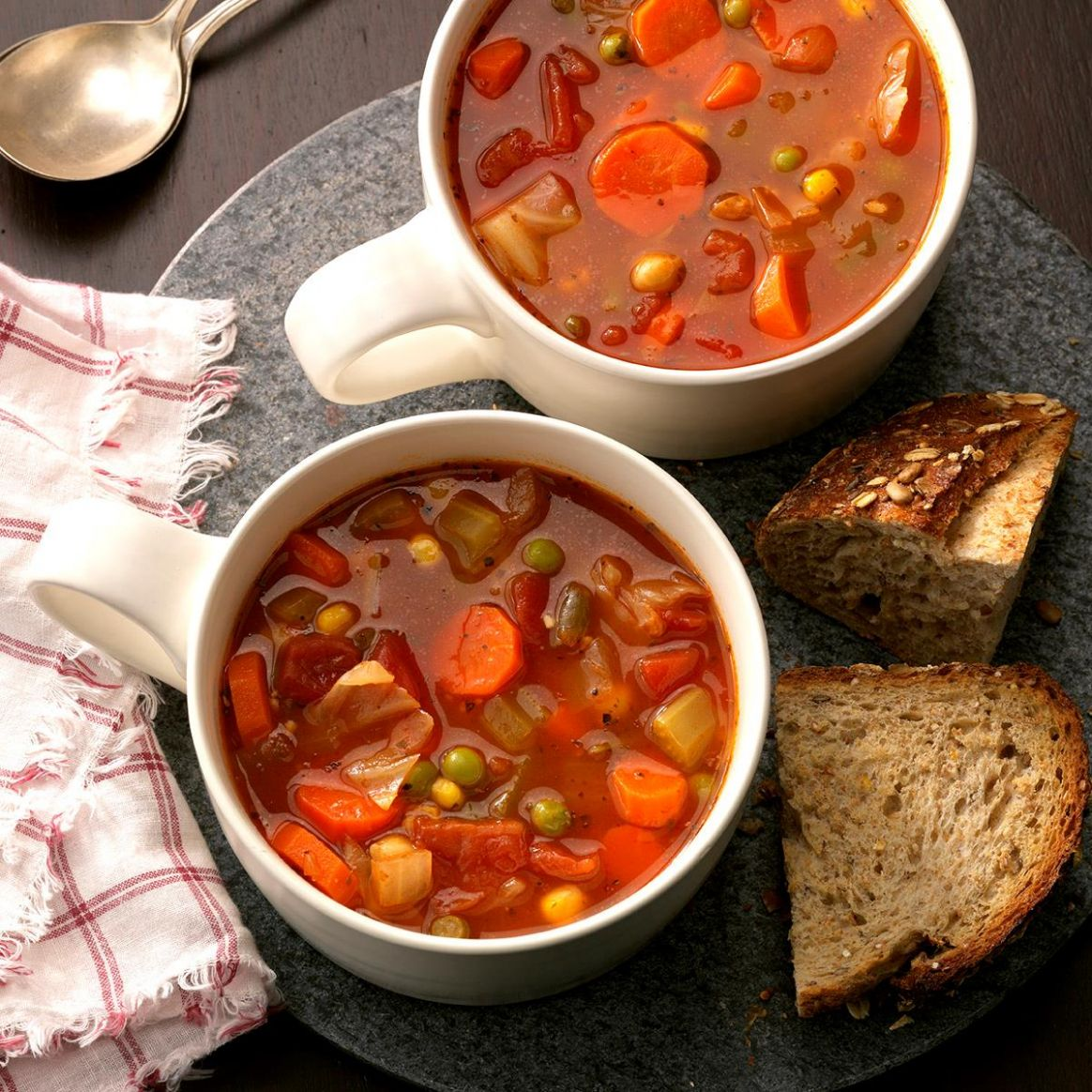 Hearty Vegetable Soup - Recipes For Vegetable Soup