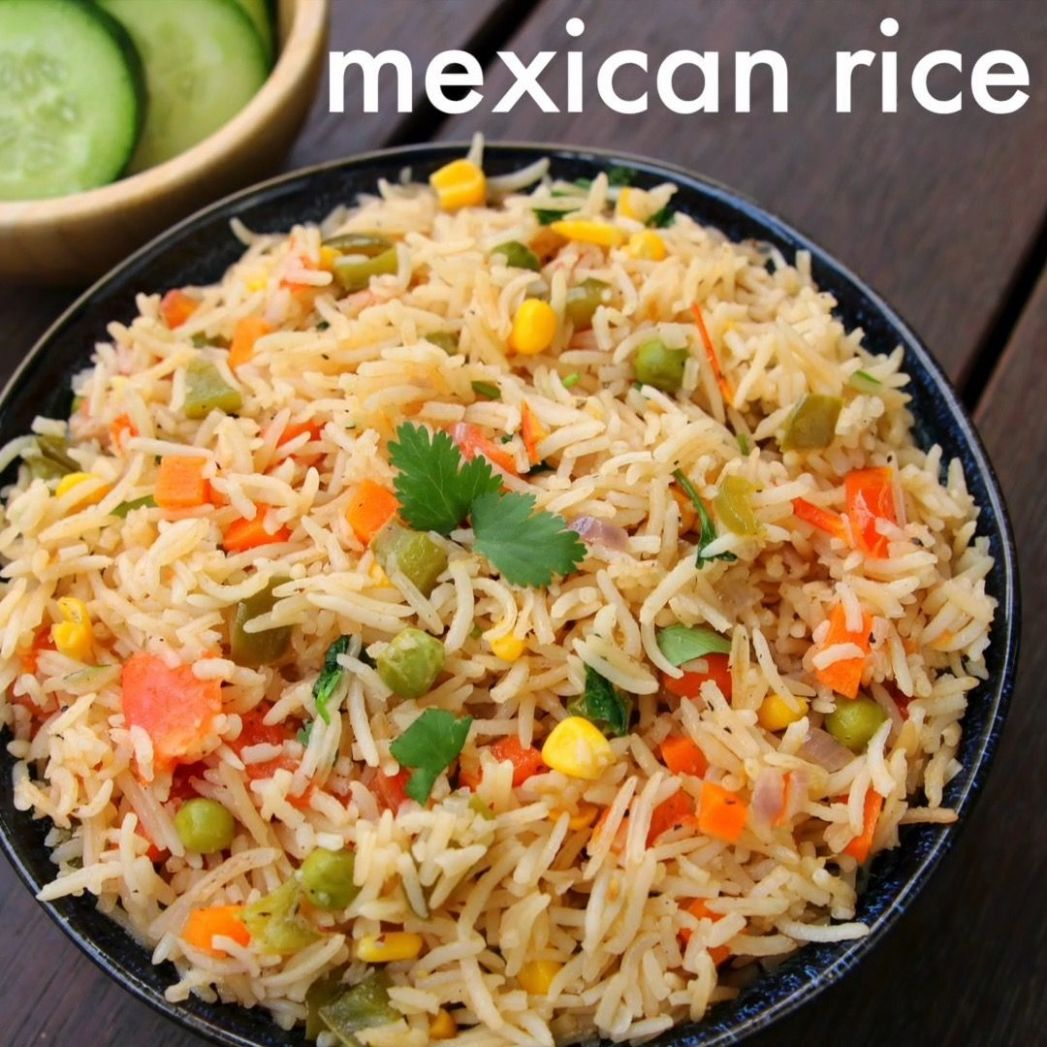 "Hebbar's Kitchen on Instagram: ""mexican rice recipe - lunch box ..."