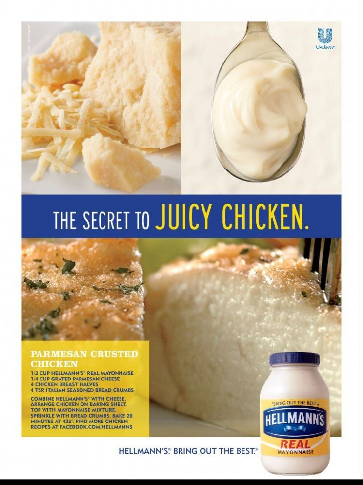 Hellmann's Parmesan Crusted Chicken | Food recipes, Crusted ...