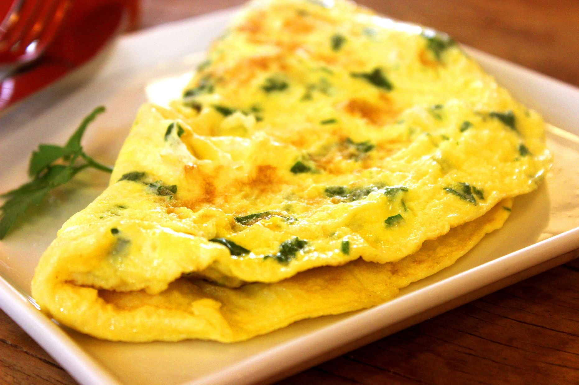 Herb and Cheese Omelet