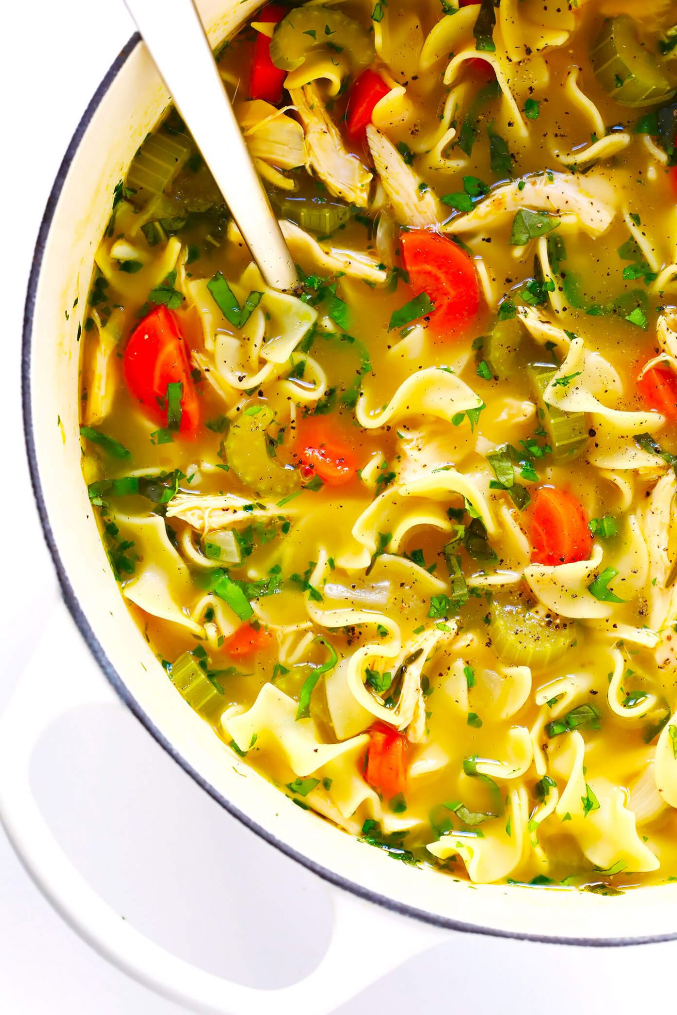 Herb-Loaded Chicken Noodle Soup