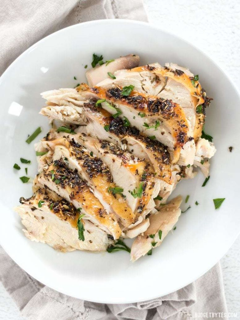 Herb Roasted Chicken Breasts - Tender and Juicy - Budget Bytes