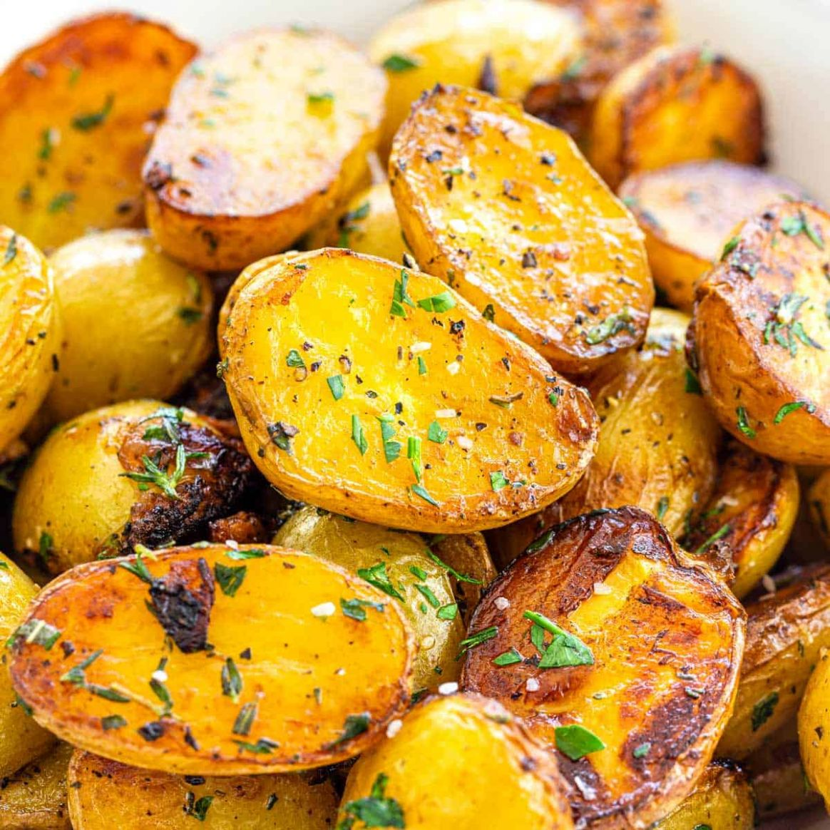 Herbed Skillet Potatoes - Potato Recipes On Stove
