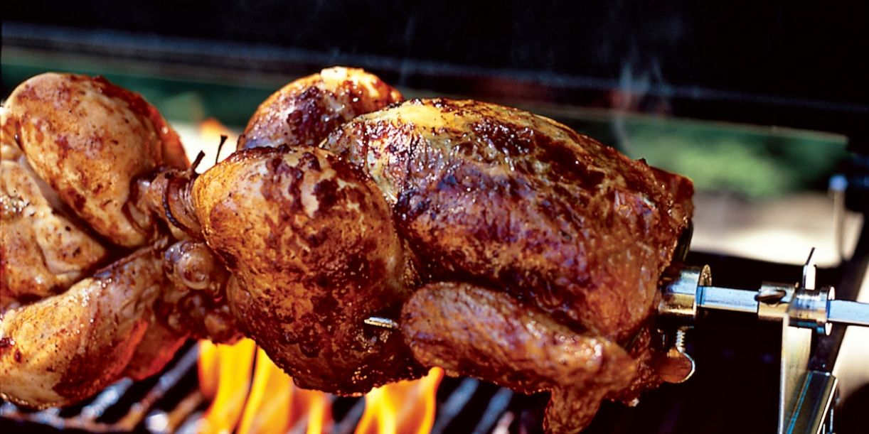 Herbes de Provence Rotisserie Chickens - Recipes Chicken Rotisserie