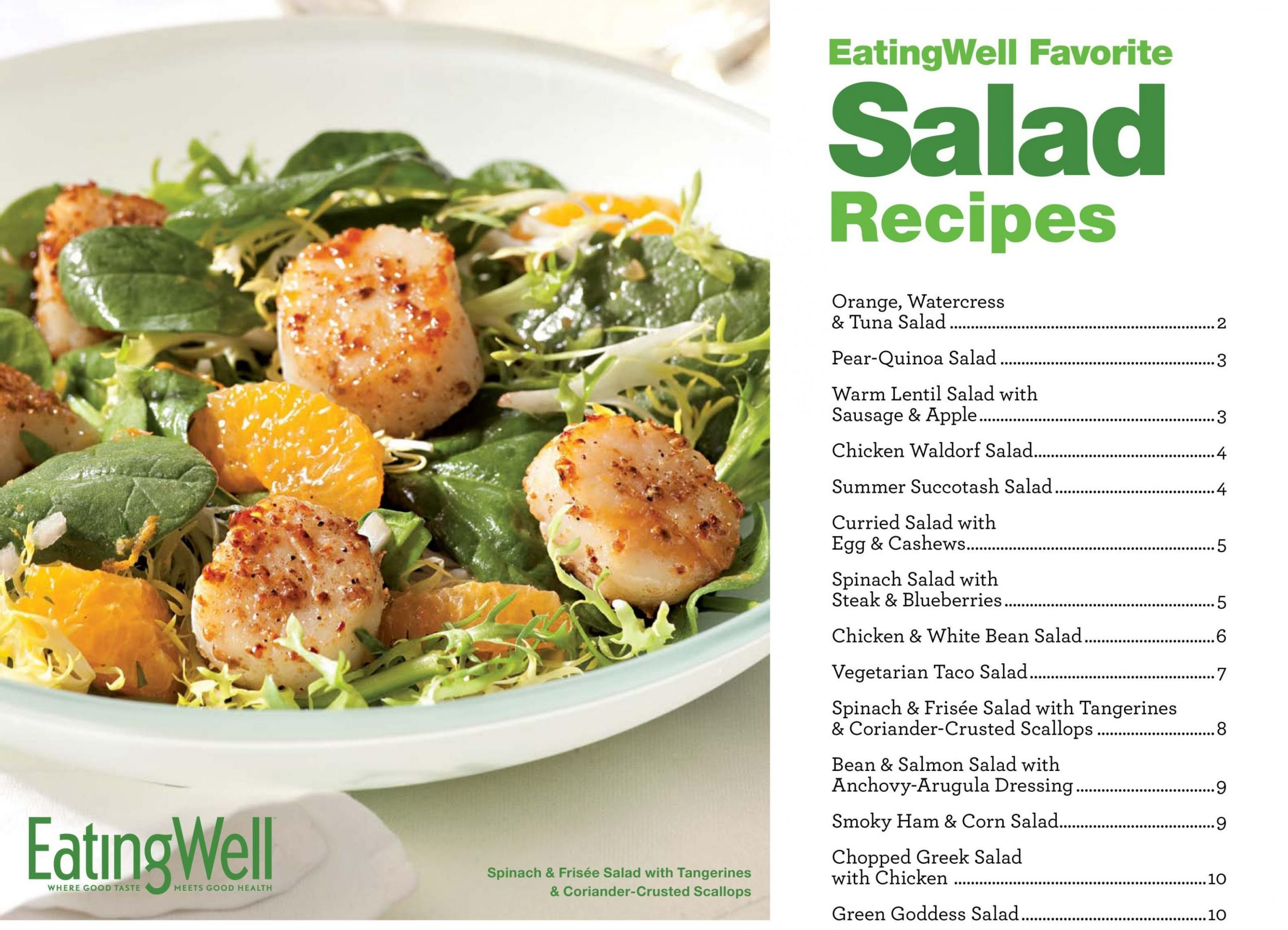 Here is a free cookbook full of Healthy Salad Recipes from ...