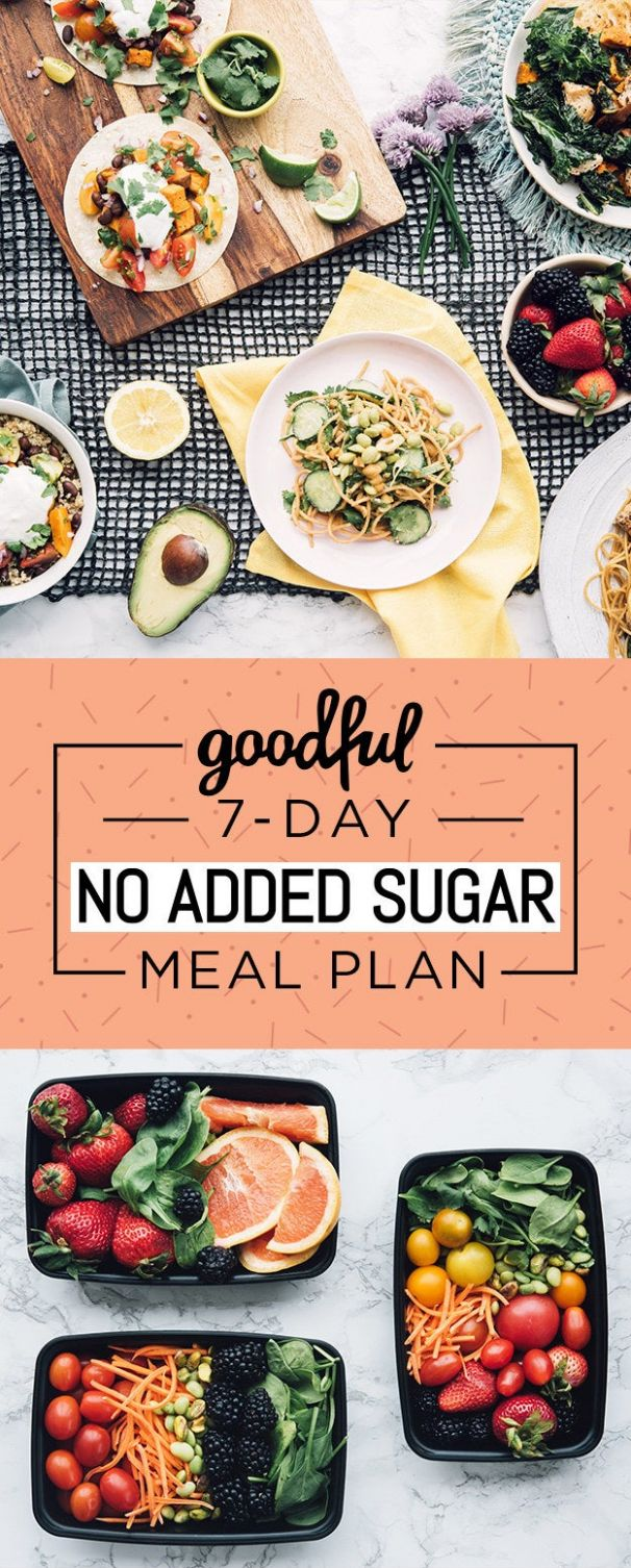 Here's A 9-Day No-Added-Sugar Meal Plan That's Actually Doable