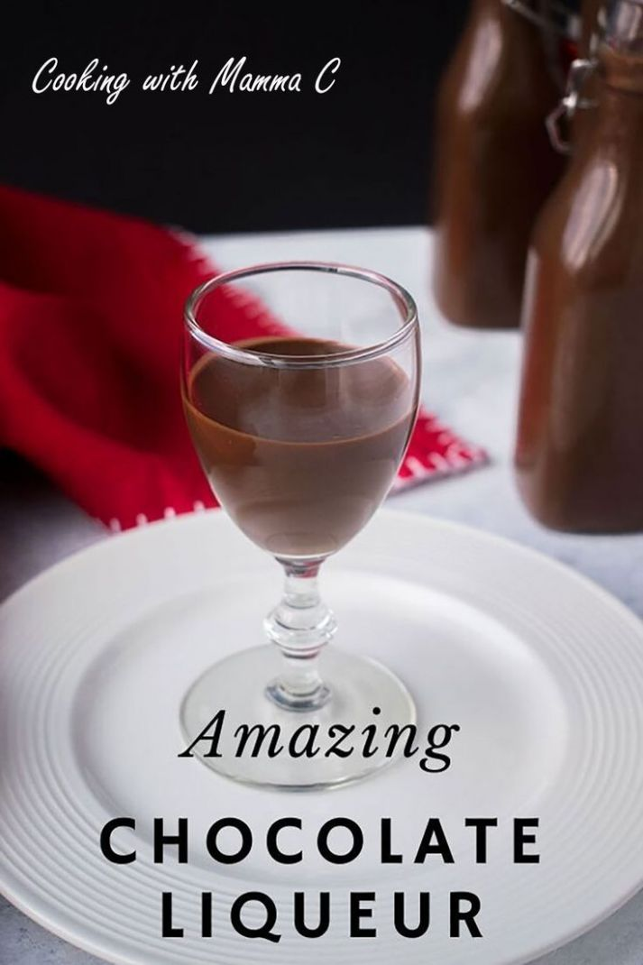 Here's a Chocolate Liqueur Recipe from Italy that you'll love ...
