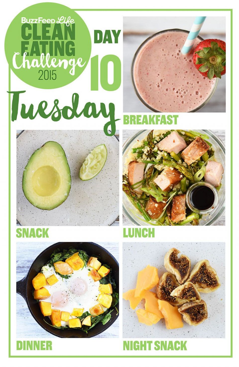 Here's A Two-Week Clean Eating Challenge That's Actually Delicious ...