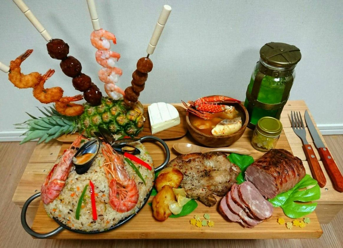 Here's What A Monster Hunter: World Meal Looks Like In Real Life ...