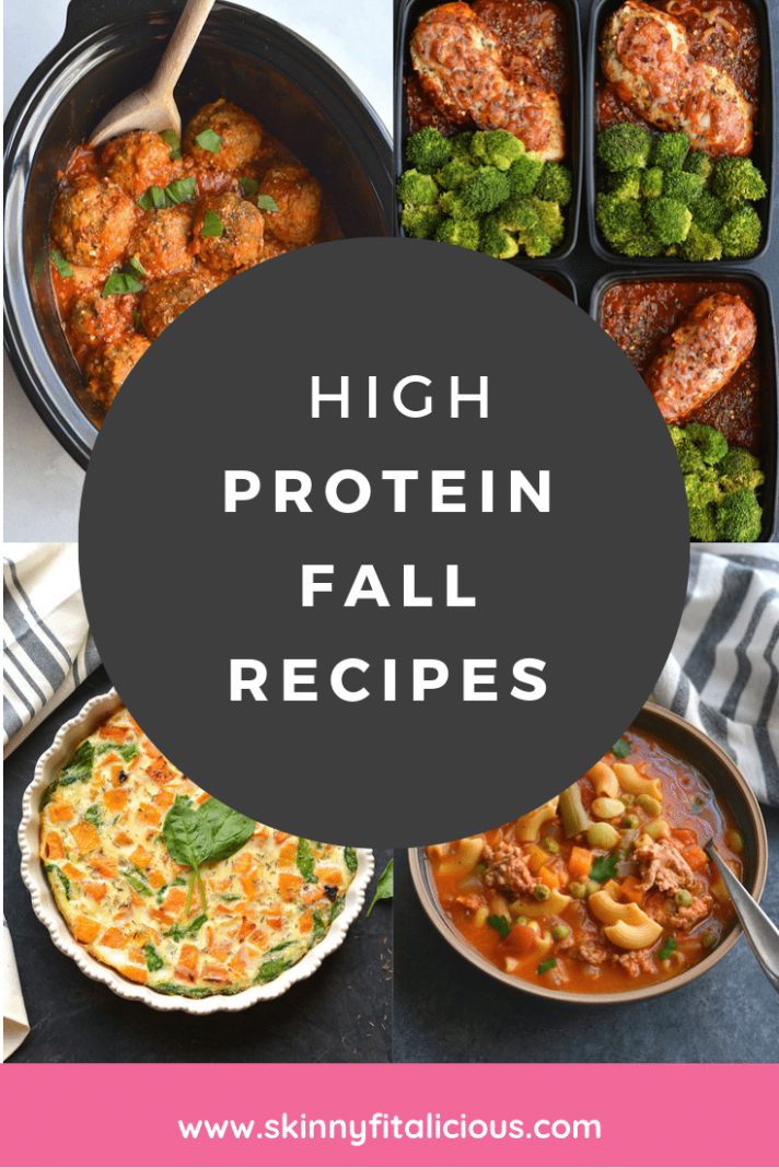 High Protein Fall Recipes - Skinny Fitalicious® - Healthy Recipes High Protein