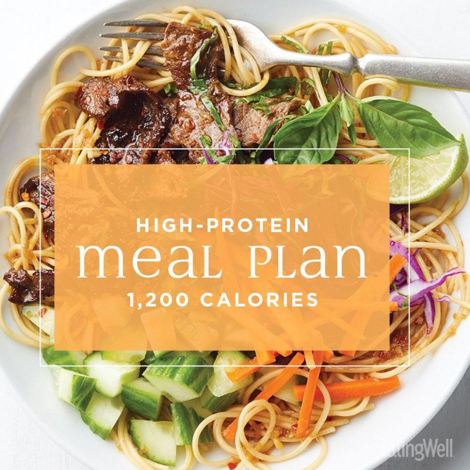 High-Protein Meal Plan: 12,12 Calories | EatingWell - Healthy Recipes High Calories