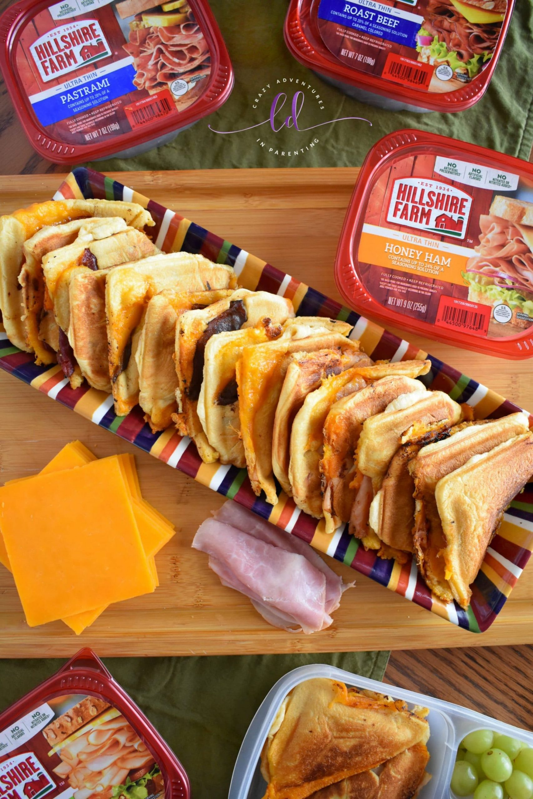 Hillshire Farm Crescent Roll Sandwiches - Sandwich Maker Recipe - Recipes Sandwich Maker
