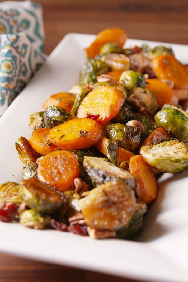 Holiday Roasted Vegetables - Recipes Vegetable Medley
