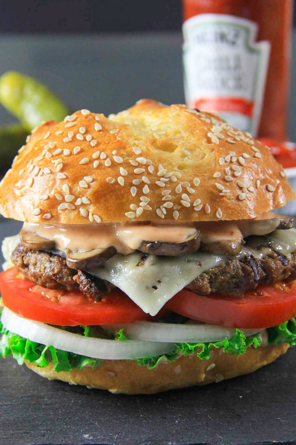 Homemade Beef Burger - Recipes Beef Burgers