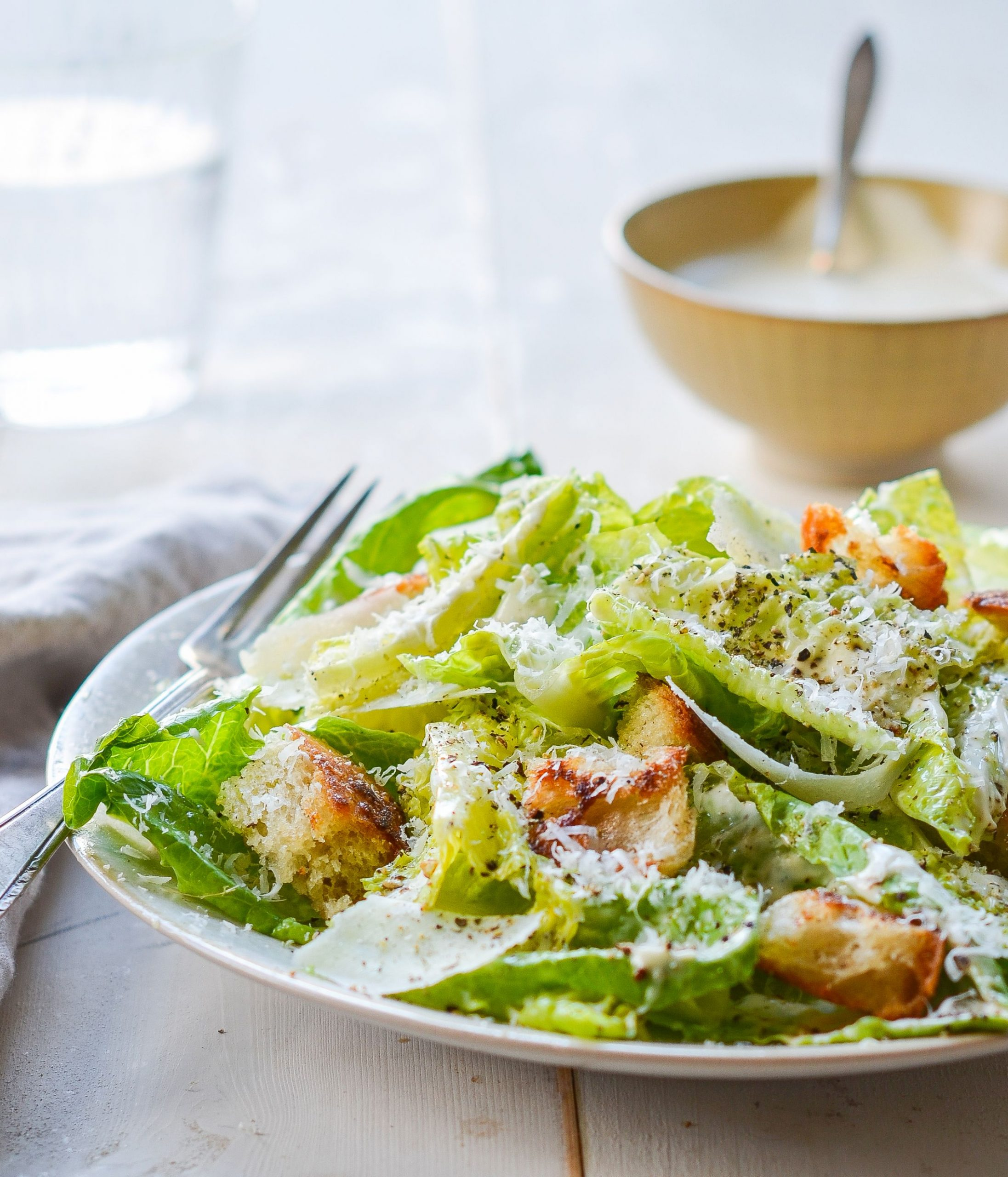 Homemade Caesar Salad Dressing - Salad Recipes And Dressings
