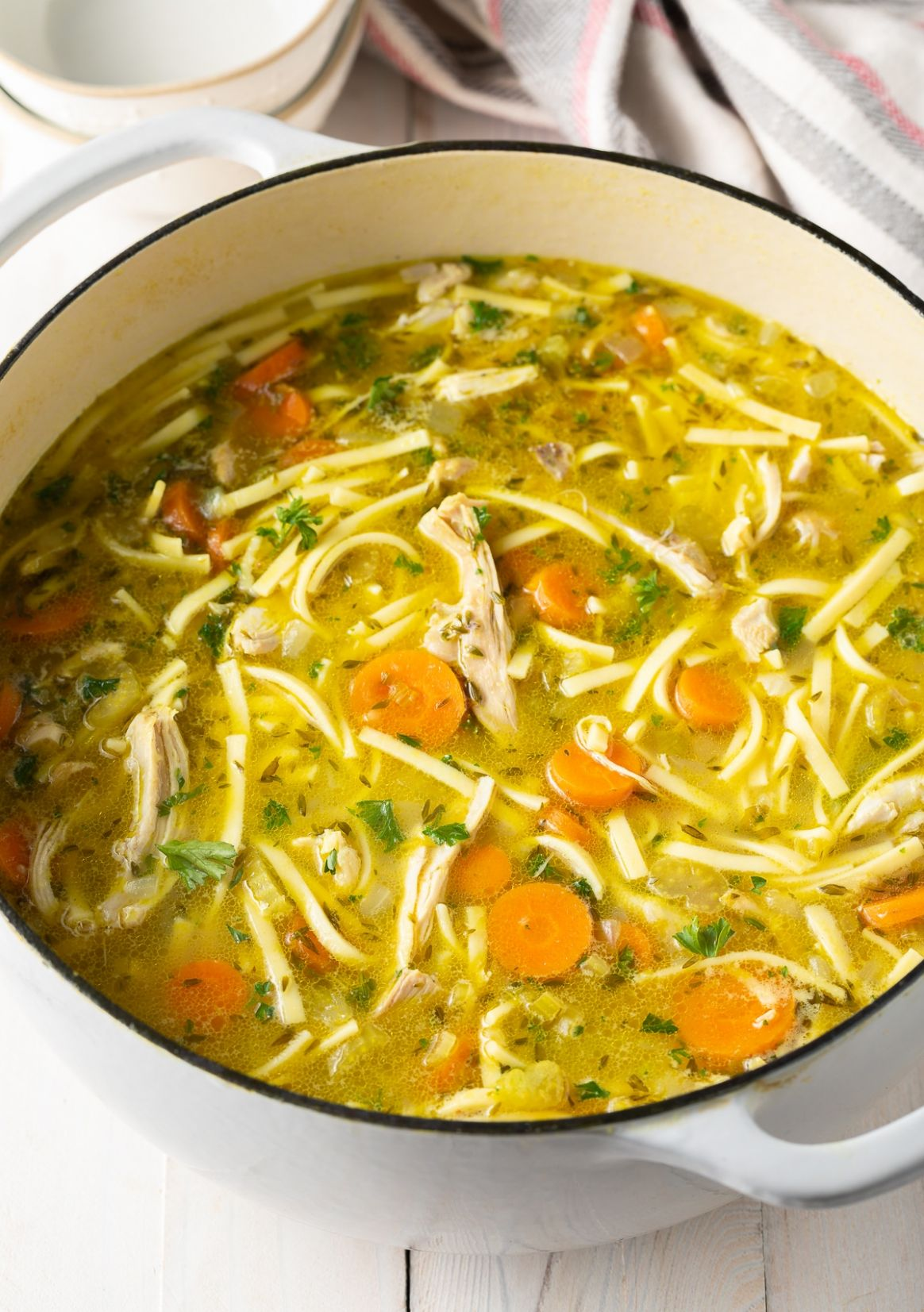 Homemade Chicken Noodle Soup Recipe - Recipes Chicken Soup