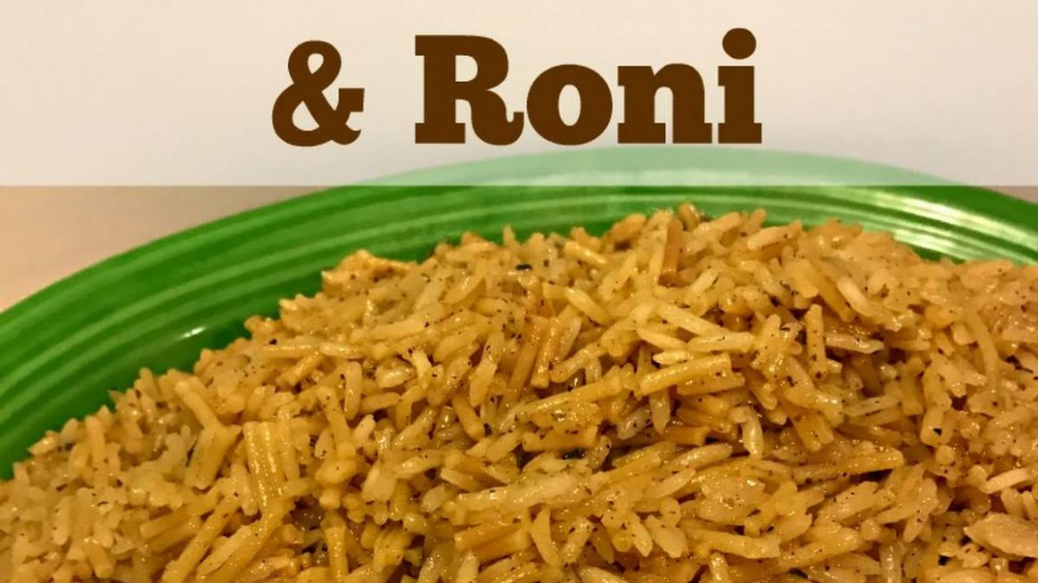 Homemade Chicken Rice & Roni