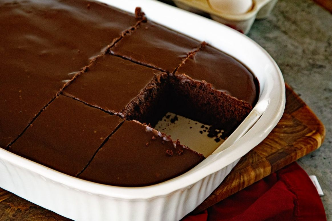 Homemade Chocolate Cake with Chocolate Frosting - Julie's Eats ...