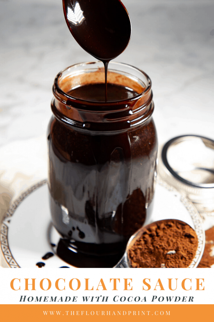 Homemade Chocolate Syrup - Recipes Chocolate Sauce