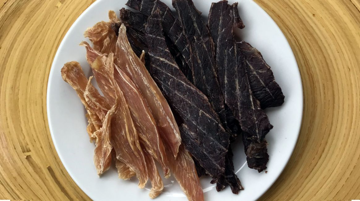 Homemade Jerky Treats for Dogs