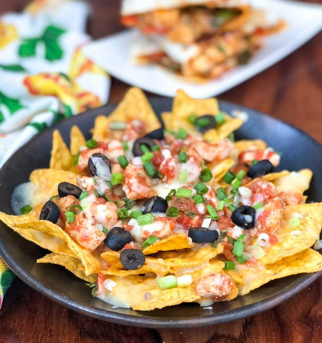 Homemade Loaded Chicken Nachos Recipe